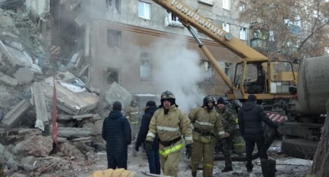 Под завалами найден живым 10-месячный ребенок— катастрофа вМагнитогорске