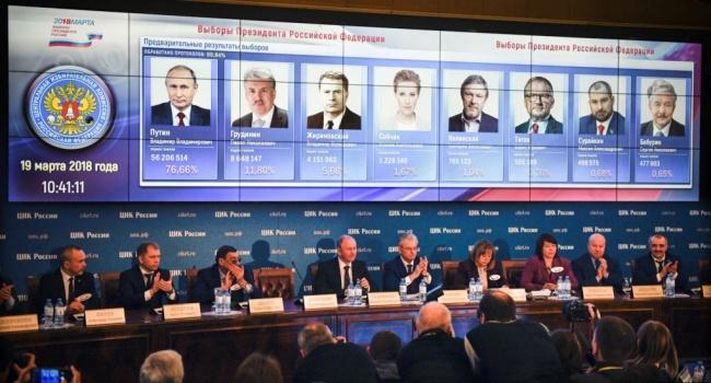 В российском Центризбиркоме дорисовали на выборах Путина 50 млн человек, – Рабинович