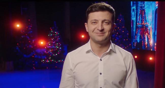 Казанцев сравнил новогоднее поздравление Зеленского с Задорновым