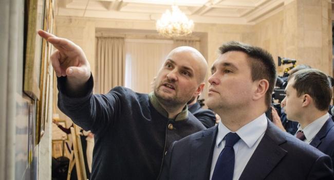 Политолог: второй день подряд российских пропагандистов трясет от заявления Климкина