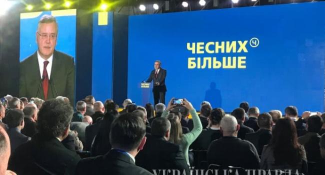 Гриценко заверил, что одним из первых своих указов на посту президента будет отмена призыва в армию