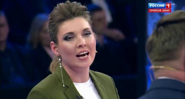 «Подавитесь своим Томосом!»: Скабеева разразилась проклятиями