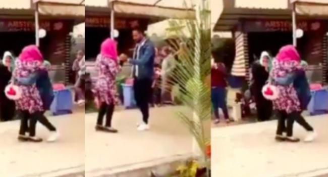 Египтянку исключили из университета из-за объятий с женихом