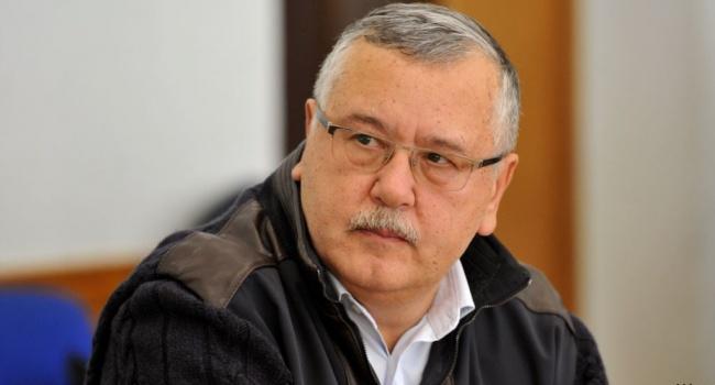 Цыбулько: Гриценко не может стать президентом