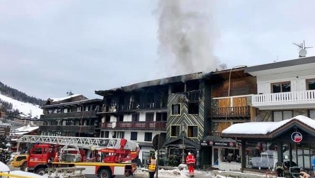 Пожар на Куршевеле: МИД рассказали об украинцах