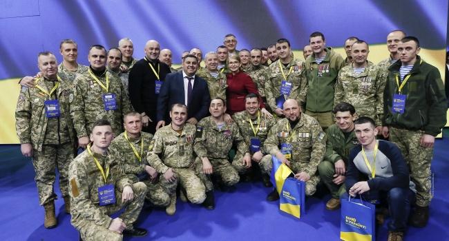 Нусс: чисто гипотетически, если Тимошенко с Путиным возьмут реванш 31 марта, армией она все равно признана не будет