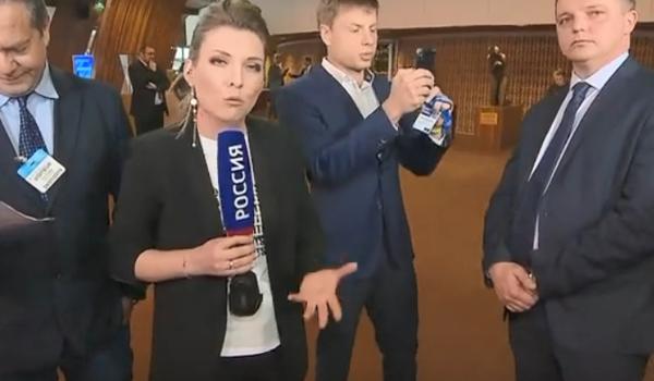 Скабеева написала жалобу вСовет Европы после инцидента сдепутатом Рады