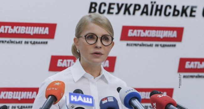 За два месяца до выборов Тимошенко начала пролетать, как фанера над Парижем, с попаданием во второй тур, – Олешко