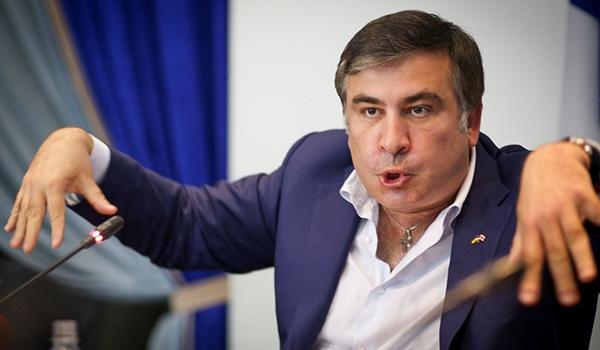 «Уходи, Миша!»: в Бельгии из-за Саакашвили произошла потасовка.