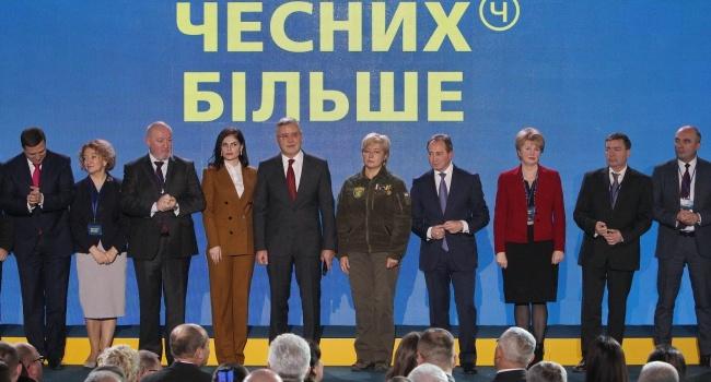 Журналист: Гриценко – единственный кандидат в президенты, который решил представить свою команду в должностях