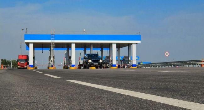 Три основных трассы Украины могут стать платными