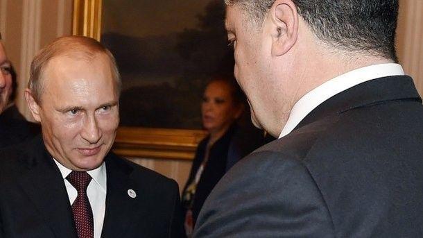 Порошенко о Путине: Ему придется сесть за стол переговоров, другого выхода нет