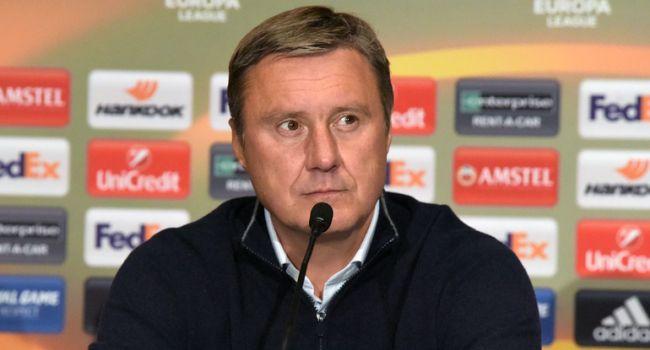 «Динамо» не будет менять игровую схему в матче с «Челси» - Хацкевич