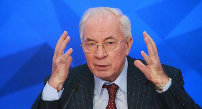 Азаров об акциях националистов: «Вот во что вы превратили Украину»