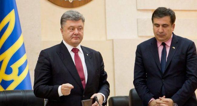 «Я уверен, что Порошенко не пройдет во второй тур»: Саакашвили рассказал о своих планах по возвращению в Украину