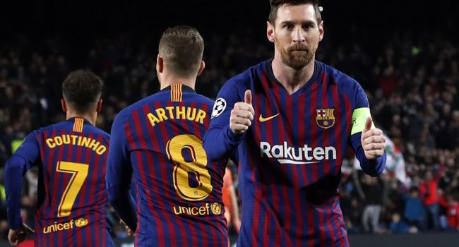 Чуда не произошло: «Барселона» разгромила «Лион» в ответном матче