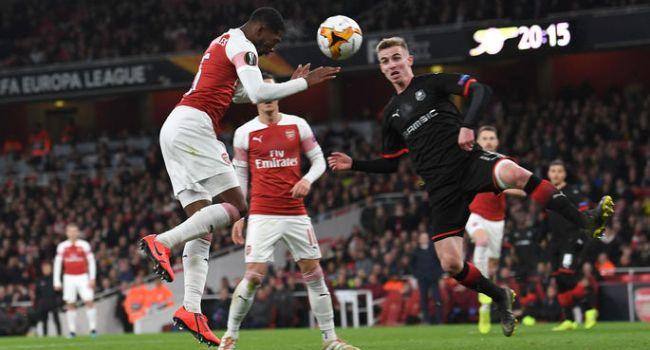 Лондонский «Арсенал» отыгрался после поражения 1:3 в Лиге Европы