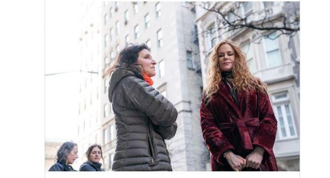 Снова рыженькая: Николь Кидман вернулась к своему привычному образу