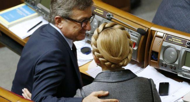 Политолог рассказал, зачем на самом деле Тимошенко объединилась с Тарутой