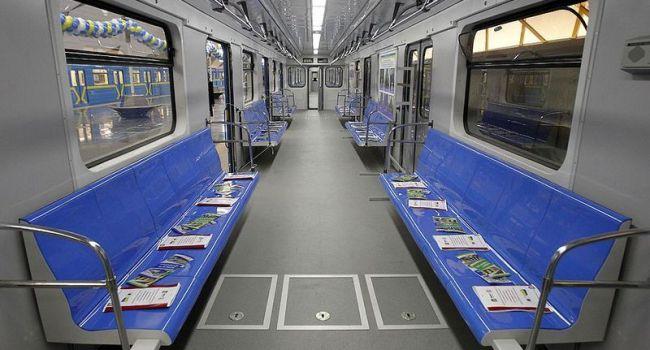 В киевском метрополитене появятся новые вагоны