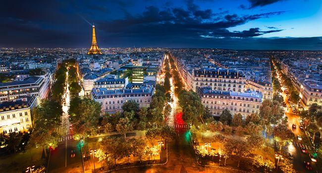 Франция признана самой популярной страной у туристов