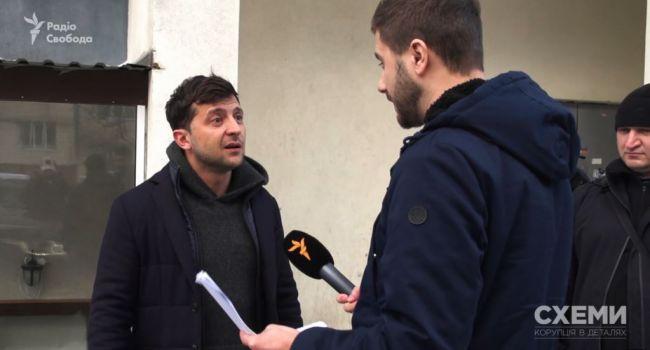 Денис Пятигорец рассказал, почему Зеленский бегает от журналистов