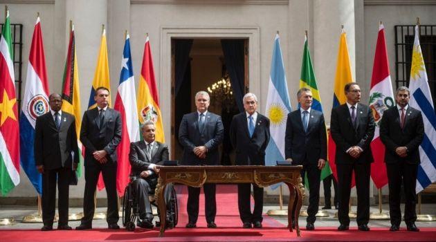 Южноамериканские государства объединяются в политический блок