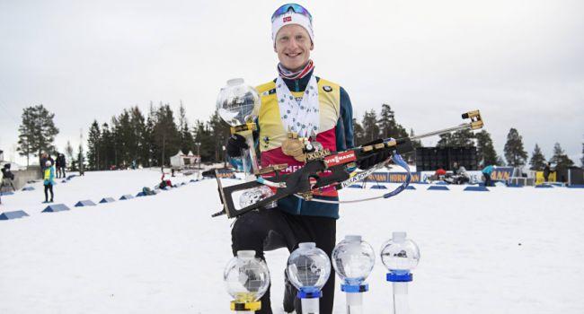 Йоханнес Бё стал богатейшим биатлонистом за всю историю