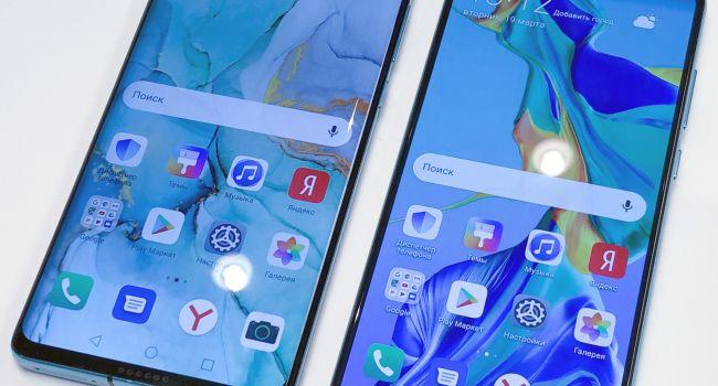 Компания Huawei впервые показала свои новые флагманские модели в Париже