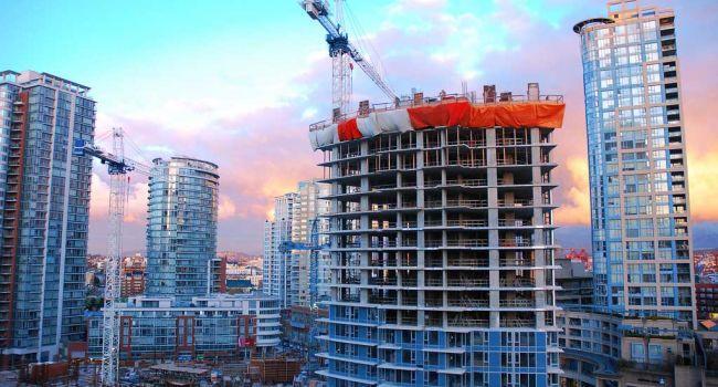 В Украине сократились темпы строительства жилья