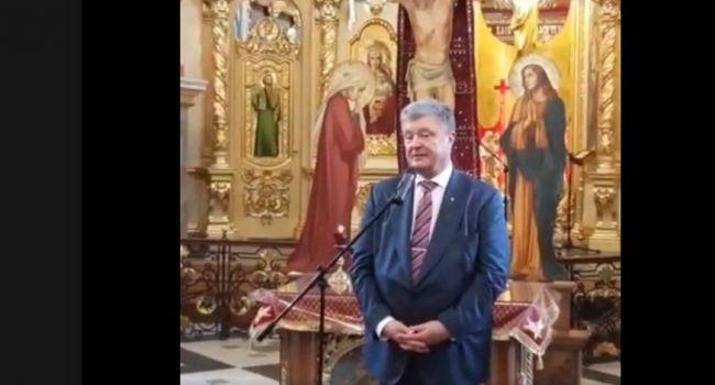 «Вынашивает томос»: пост журналиста со снимком Порошенко взорвал Facebook