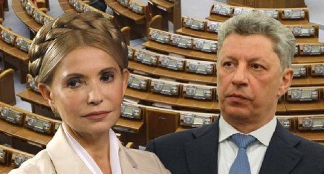Тимошенко вновь «пострадала» из-за Бойко - The Belgium-Ukraine Research Institute