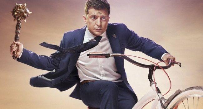 Блогер на пальцах объяснил, почему президент Украины никогда не будет ездить на велосипеде