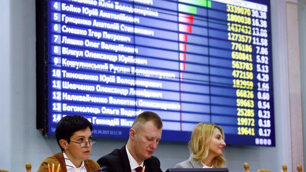 Зеленского официально признали победителем первого тура выборов
