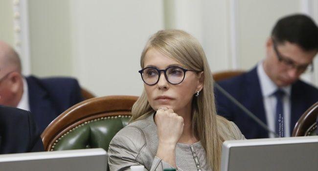 Юлия Тимошенко предложила на законодательном уровне защитить страну от безответственности президента