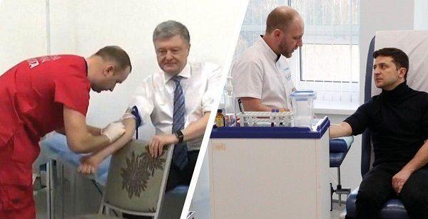 Известный украинский нарколог разгромил анализы Зеленского и Порошенко