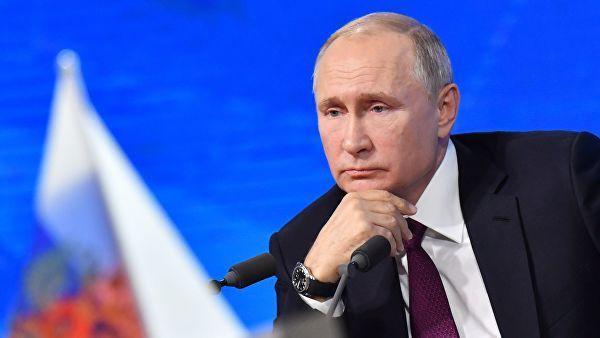 В России сообщили о значительном падении рейтинга Владимира Путина