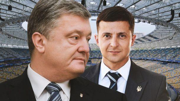 «Не дай Бог»: Порошенко рассказал, будет ли объединятся с Зеленским после его победы