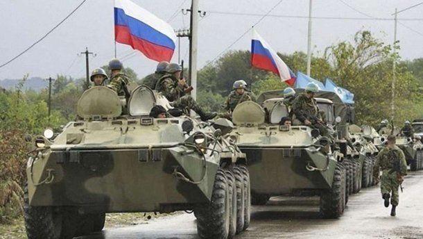 РФ перекинула к границе Украины еще одну батальонно-тактическую группу военных
