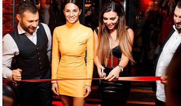 Анна Седокова открыла в центре Москвы модное заведение