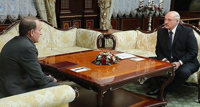 Информация от конфиденциальных источников: стала известна настоящая причина визита Медведчука в Беларусь