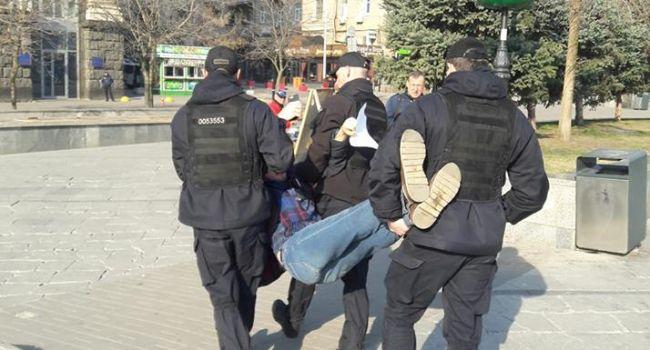 Блогер: реформированная украинская полиция в действии