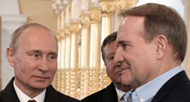 Курировать политику Зеленского на внешней арене будет лично Медведчук, – политолог
