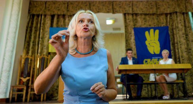 «Не было бы тех москворотых, не имел бы Путин кого защищать»: Фарион обвинила русскоязычных украинцев в войне на Донбассе