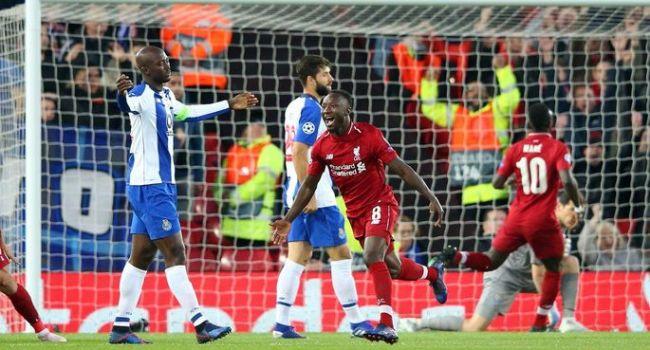 «Ливерпуль» не оставил шансов «Порту» в первом матче 1/4 ЛЧ