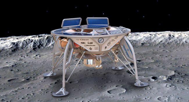 Частный космический аппарат разбился при посадке на Луну