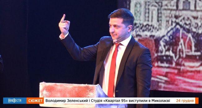 После выборов нам обаятельно покажут настоящего Зеленского: журналист рассказал для чего раскрою карты