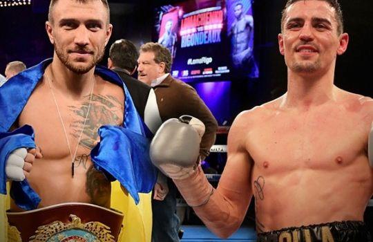 Блестящая победа Василия Ломаченко: Энтони Кролла продержался всего 3 раунда