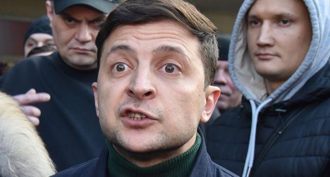 Кандидат сказал корреспондентам, почему неездит навелосипеде— Интервью Зеленского