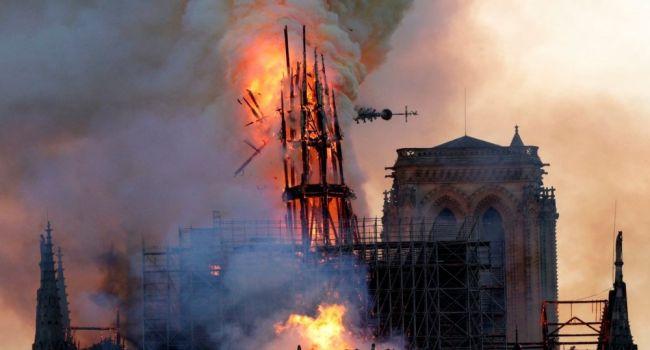 Положий: проснувшись 22 апреля каждый гражданин теперь сможет сказать: если Собор в Париже сгорел, то, чему мы удивляемся?